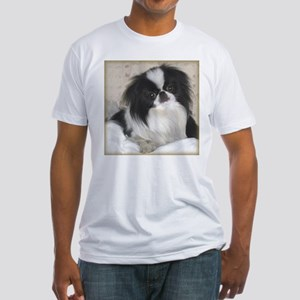 Deluxe Japanese Chin Darling Fitted T-Shirt