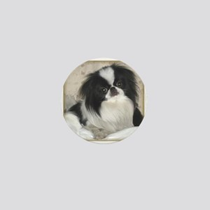 Deluxe Japanese Chin Darling Mini Button