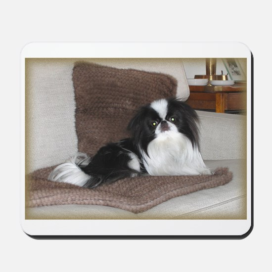 Deluxe Japanese Chin Darling Mousepad