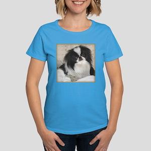 Deluxe Japanese Chin Darling Women's Dark T-Shirt