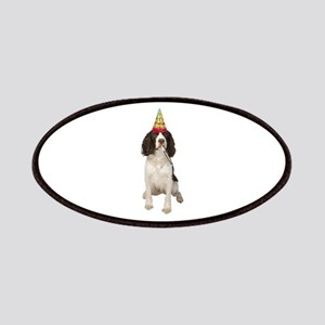 Springer Spaniel Birthday Party Patches