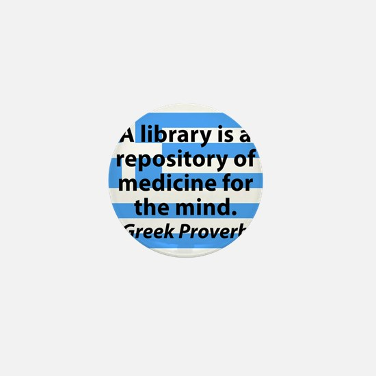 A Library Is a Repository Mini Button