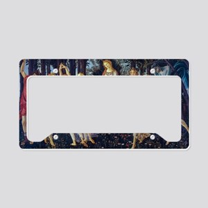 Botticelli: La Primavera License Plate Holder