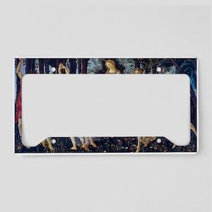 Botticelli: La Primavera License Plate Holder