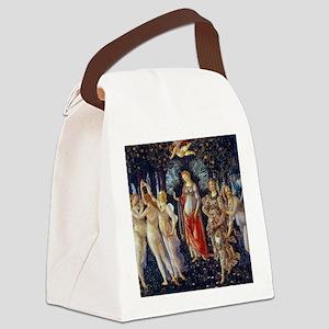 Botticelli: La Primavera Canvas Lunch Bag