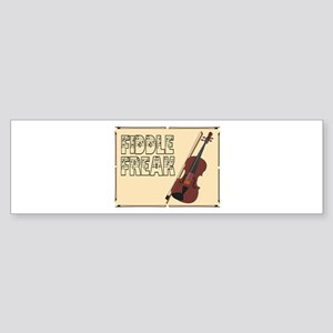 Fiddle Freak Bumper Sticker