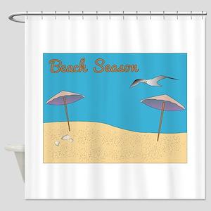 Beach Season Shower Curtain