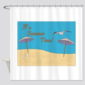 Its Summer Time! Shower Curtain