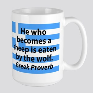 He Who Becomes A Sheep Mugs