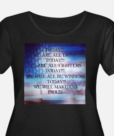 RightOn We are All Lions Plus Size T-Shirt