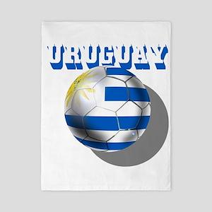 Uruguay Soccer Ball Twin Duvet