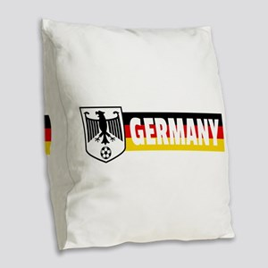 germany-coat-of-arms Burlap Throw Pillow