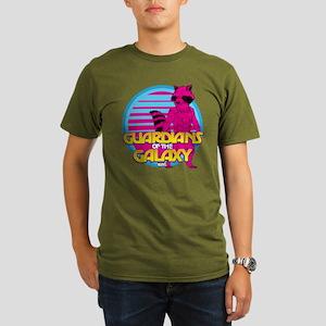 Rocket Pink Organic Men's T-Shirt (dark)