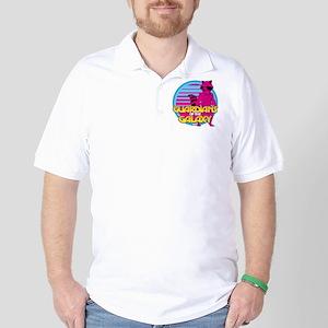 Rocket Pink Golf Shirt