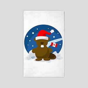 Canada Christmas 3'x5' Area Rug