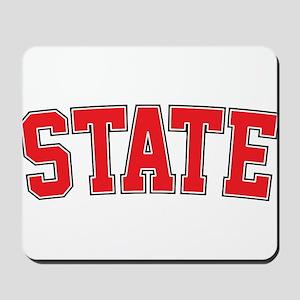 State - Jersey Mousepad