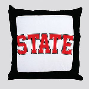 State - Jersey Throw Pillow