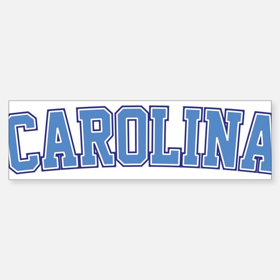 North Carolina - Jersey Bumper Bumper Bumper Sticker