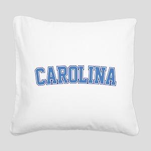 North Carolina - Jersey Square Canvas Pillow
