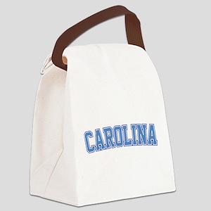 North Carolina - Jersey Canvas Lunch Bag