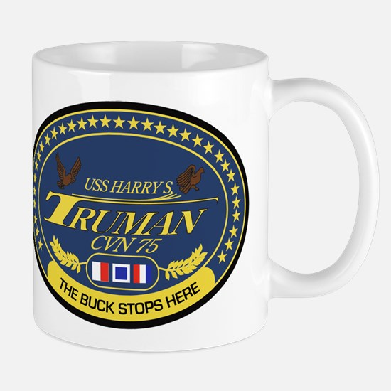 USS Harry S. Truman CVN-75 Mugs