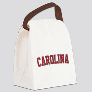 Carolina Jersey VINTAGE Canvas Lunch Bag