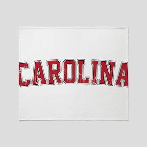 Carolina Jersey VINTAGE Throw Blanket