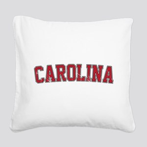 Carolina Jersey VINTAGE Square Canvas Pillow