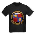 USS NEWMAN K. PERRY Kids Dark T-Shirt