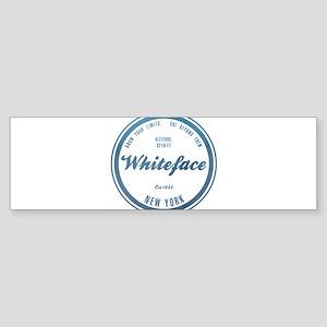 Whiteface Ski Resort New York Bumper Sticker