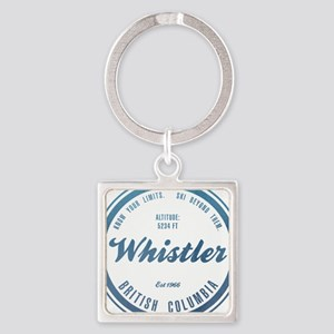 Whistler Ski Resort British Columbia Keychains