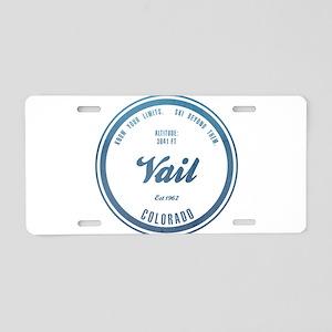 Vail Ski Resort Colorado Aluminum License Plate