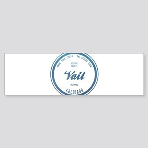 Vail Ski Resort Colorado Bumper Sticker