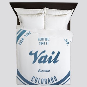 Vail Ski Resort Colorado Queen Duvet