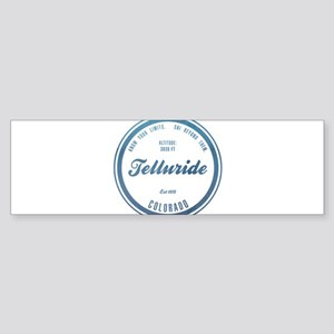 Telluride Ski Resort Colorado Bumper Sticker