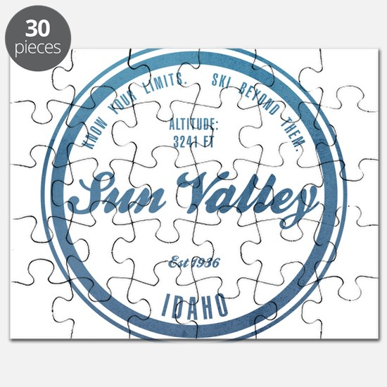 Sun Valley Ski Resort Idaho Puzzle