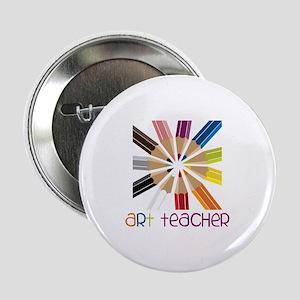 """Art Teacher 2.25"""" Button"""