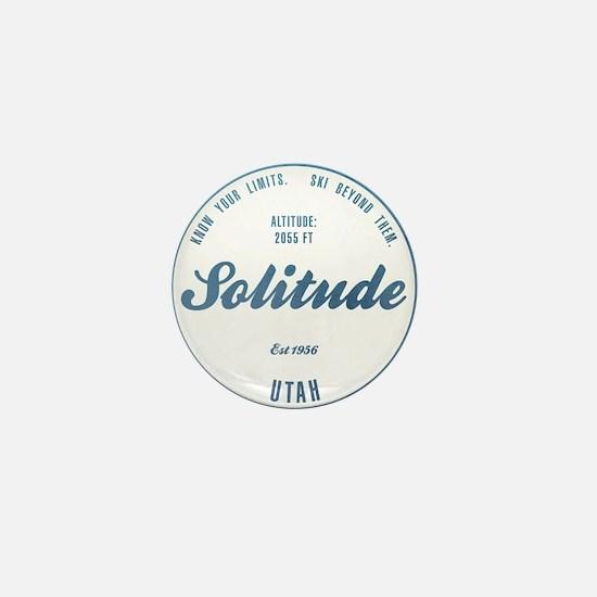 Solitude Ski Resort Utah Mini Button