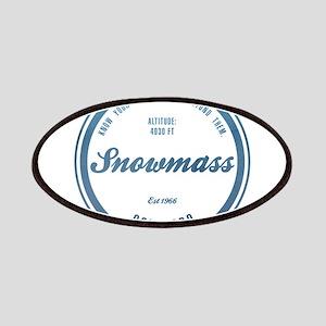 Snowmass Ski Resort Colorado Patches