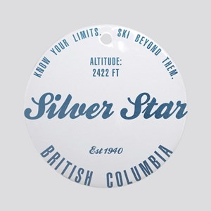 Silver Star Ski Resort British Columbia Ornament (
