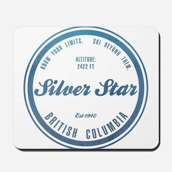 Silver Star Ski Resort British Columbia Mousepad