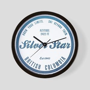 Silver Star Ski Resort British Columbia Wall Clock