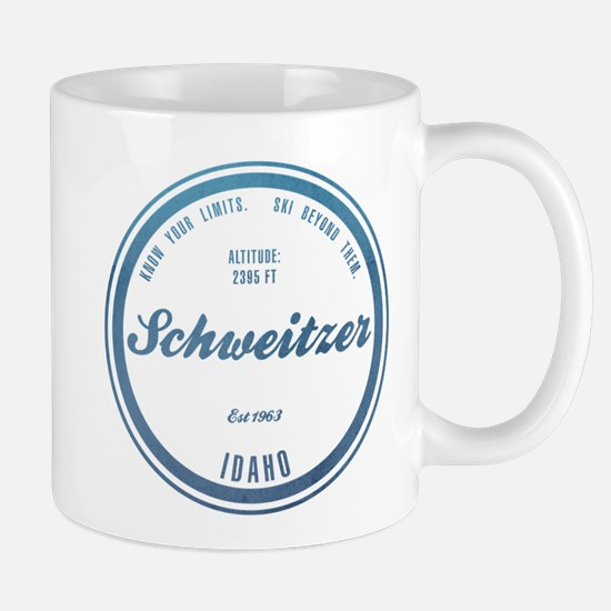 Schweitzer Ski Resort Idaho Mugs