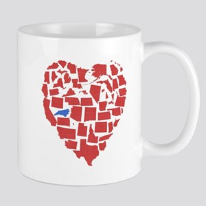 North Carolina Heart Mug