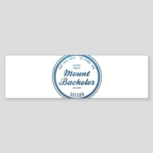 Mount Bachelor Ski Resort Oregon Bumper Sticker