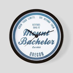 Mount Bachelor Ski Resort Oregon Wall Clock