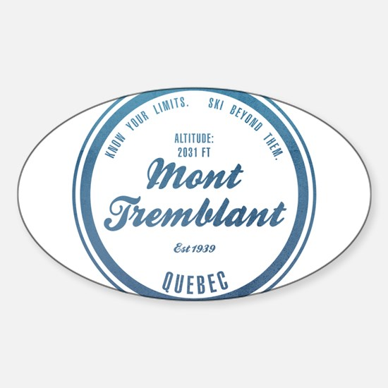 Mont Tremblant Ski Resort Quebec Decal