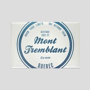 Mont Tremblant Ski Resort Quebec Magnets