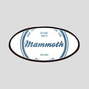 Mammoth Ski Resort California Patches