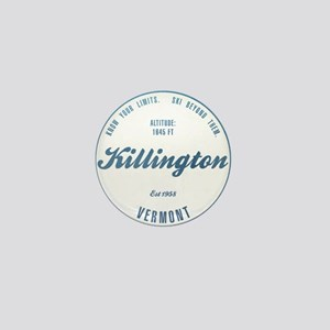 Killington Ski Resort Vermont Mini Button